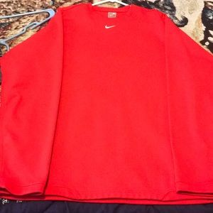 Other - Nike Red Pullover